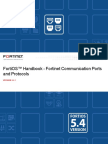 Fortinet Communication Ports and Protocols 54