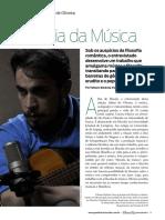 Sidnei de Oliveira - Entrevista FILOSOFIA