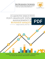 EPGDM Business Analytics Brochure