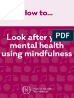 how to   mindfulness