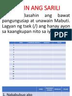 Kilalanin Ang Sarili