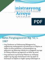Horizontal at Vertical Na Batayan Ng Wikang Pambansa