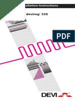 Devireg_330 floor heater