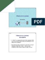 Client Server Select