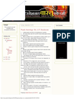 International Vastu Academy_ Naadi Astrology- Sri. a.v. Sundaram