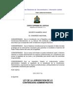 Ley de La Jurisdicción de Lo Contencioso Administrativo (09)