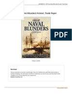 Book Great Naval Blunders Format Trade Paper