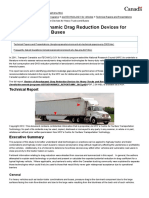 Review of Aerodynamic Drag Reduction Devices for Heavy Trucks and Buses