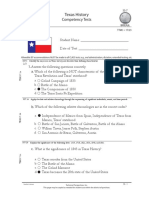 Texas History Final