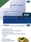 Intertek - Automotive VOC Testing Overview