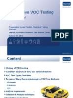 Intertek - Automotive VOC Testing Overview