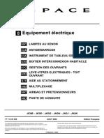 Espace IV Diag Equipements Electrique
