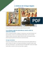 Prácticas Médicas Del Antiguo Egipto