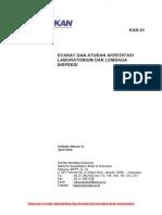 KAN 01 Syarat dan Aturan Akreditasi Laboratorium dan Lembaga Inspeksi (IN).pdf