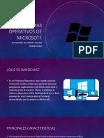Sistemas Operativos de Microsotf