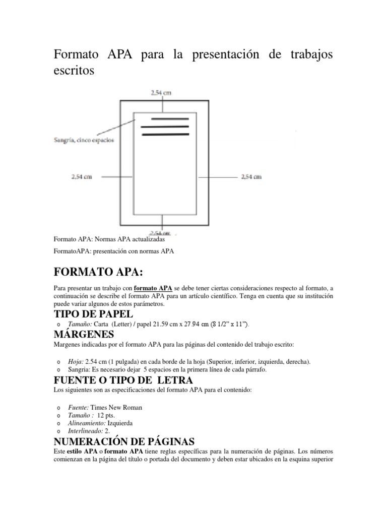 Lujo Formato Apa Bosquejo - Colección De Plantillas De Curriculum ...