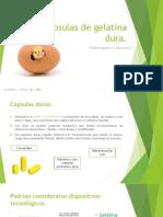 Cápsulas de Gelatina Dura 17-04-2017