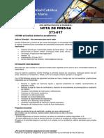 Sistema Academico Ucsm