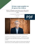 Construtivismo Segue Popular No Brasil Apesar Das Críticas