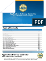 Application Delivery Controller Brand Leader Report Itbrandpulse