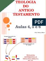 Teol at Aulas 4 e 5 e 6 COMPILAÇÃO ANTIGO TESTAMENTO
