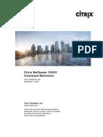 Citrix NetScaler 10 5 Command Reference