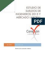 Estudio de Sueldos Conexión Ingenieros 2015