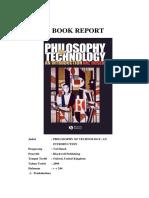Filsafat Pendidikan - BOOK REPORT - Philosophy of Technology - IsI