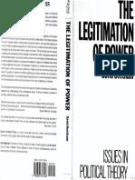 [David Beetham] the Legitimation of Power