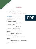 Tema 1 Logaritmo II
