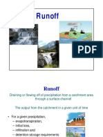 Lecture Series 5 Runoff and Streamflow