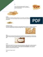 Alimentos de Origen Mineral