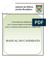 Manual Do Candidato Ao Concurso de Admisso 2017 CMS 2018
