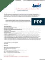Plano de Ensino - 5FUFI - Fundamentos Filosóficos e Epistemológicos