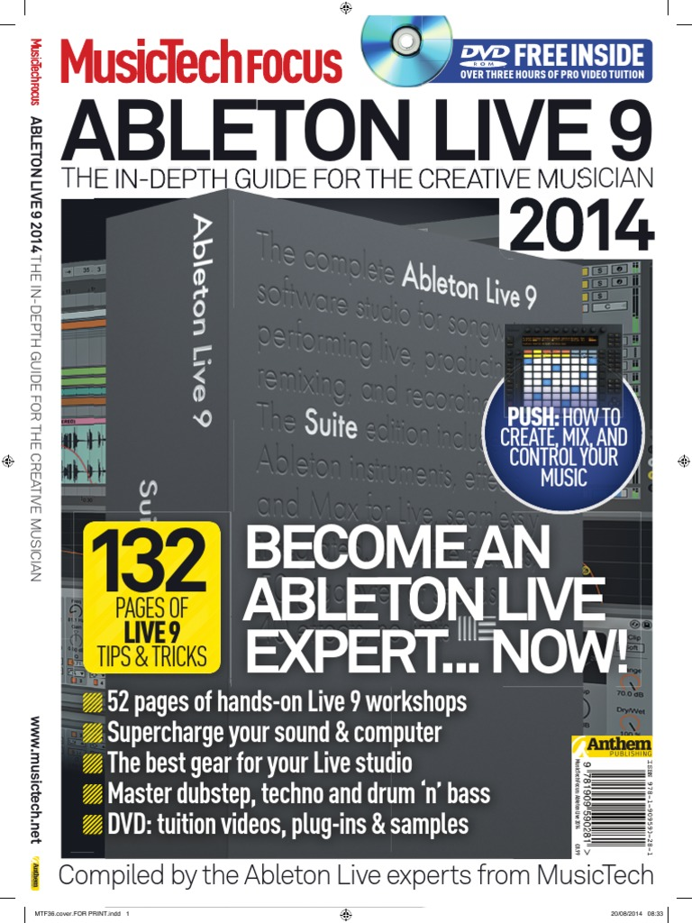 Music Tech Focus - Ableton Live - 2014 pdf | Synthesizer