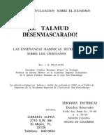 El Talmud Desenmascarado