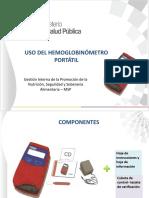 Presentación Uso Del Hemoglobinometro