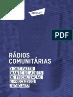 Rádios Comunitárias o Que Fazer Diante de Ações de Fiscalização e Processos Judiciais