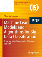 Machine Learning Models and Algorithms for Big Data Classification
