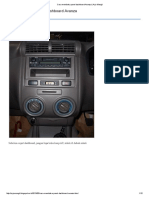 Cara Membuka Panel Dashboard Avanza _ Arjo Mangil