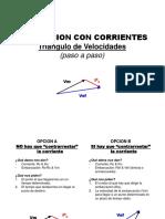 Corrientes Triangulo de Velocidades