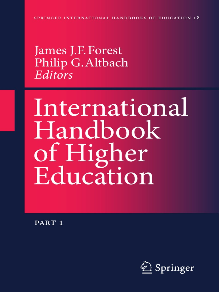 International handbook of higher education university higher international handbook of higher education university higher education fandeluxe Image collections