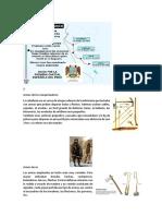 Armas y  Aportes de los Españoles