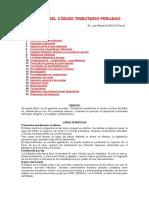 03 - Analisis Del Codigo Tributario Peruano - Luis Alarcon f.