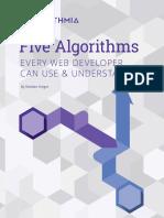 Algorithms for Webdevs eBook