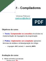1-MATA61- Compiladores