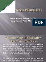 Yacimientos residuales _ 8