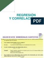 Regresión y Correlación 2017