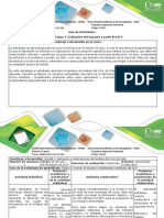 Guía de actividades y rúbrica de evaluación Etapa 4. Evaluar el impacto e interpretar resultados