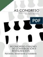 Actas-III-Congreso de Conservación. 2007.
